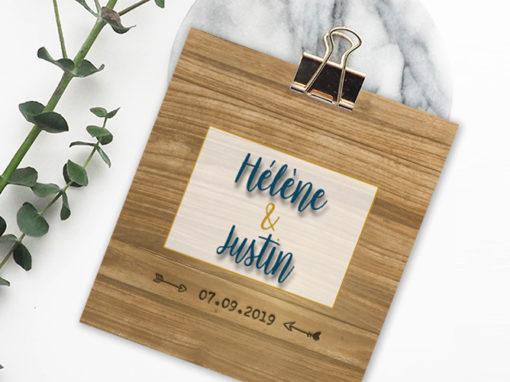 Mariage – Hélène et Justin