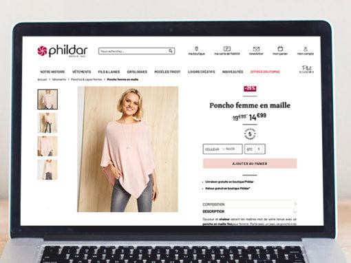 Rédaction web – Phildar
