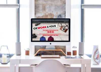 Graphisme web - Oxwork